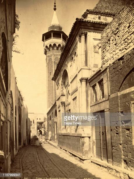 Tunis Mosque Sidi ben Arous Tunisia Neurdein brothers 1860 1890 the Neurdein photographs of Algeria including Byzantine and Roman ruins in Tebessa...