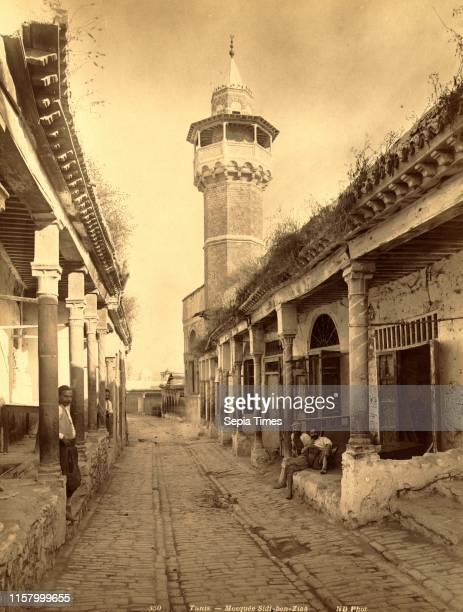 Tunis Mosque Sidi ben Ziaa Neurdein brothers 1860 1890 the Neurdein photographs of Algeria including Byzantine and Roman ruins in Tebessa and...