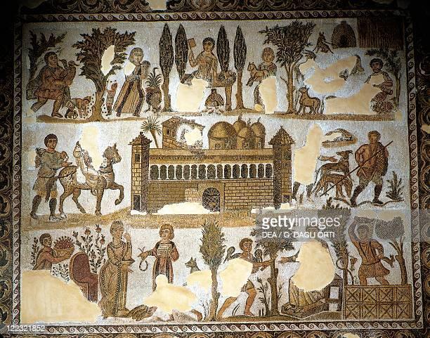 Tunisia Carthage Mosaic work