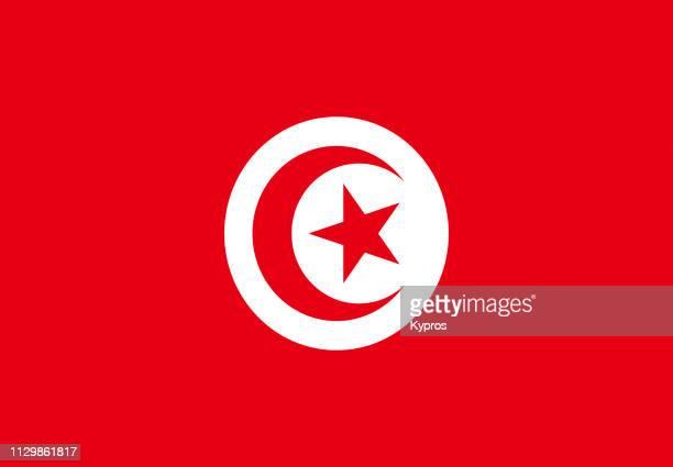 tunisia flag - tunez fotografías e imágenes de stock