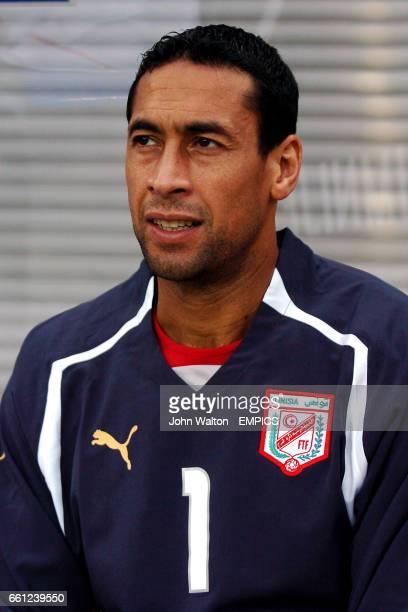 Tunisia goalkeeper Ali Boumnijel