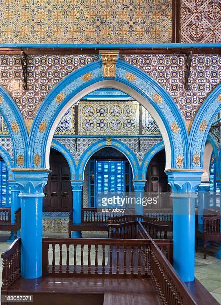 Tunisia: La Ghriba Synagogue, Island of Djerba (Interior View)