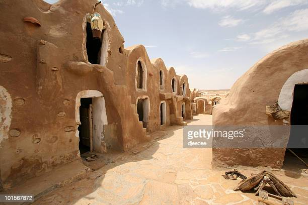tunisia, medenine - starwars film shooting place #1 - tunisia stock pictures, royalty-free photos & images