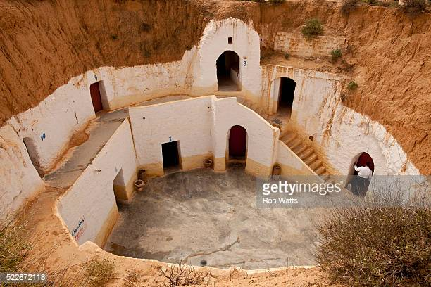 tunisia - caveman stock photos and pictures