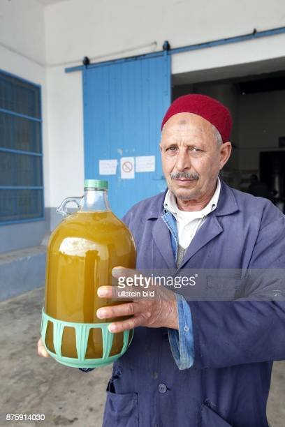 Tunisia Sidi Tahbit Eco farm is producing olive oil