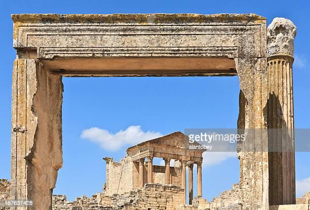 Tunisia: the Roman Capitol at Dougga