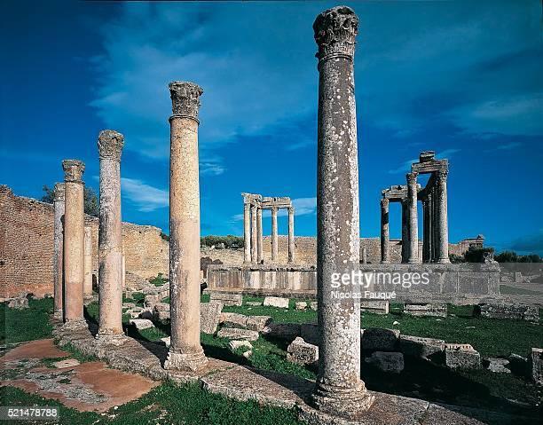 Tunisia - Travel - Ancient Roman archaeological site of Dougga