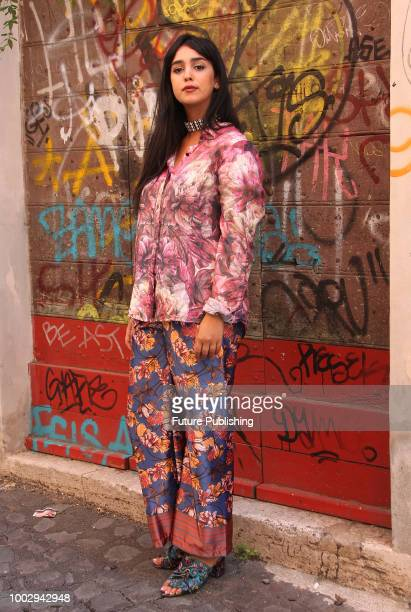 Tunisian actress and director Mariam Al Ferjani attend the photocall of the fim La bella e le bestie on July 20 2018 in Rome Italy PHOTOGRAPH BY...