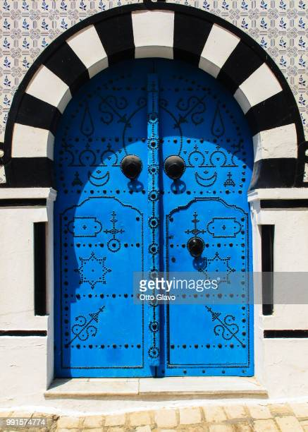 tunisian blue v. - tunisia stock pictures, royalty-free photos & images