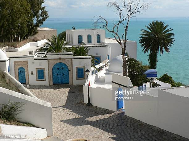 tunisian coast - tunisia stock pictures, royalty-free photos & images