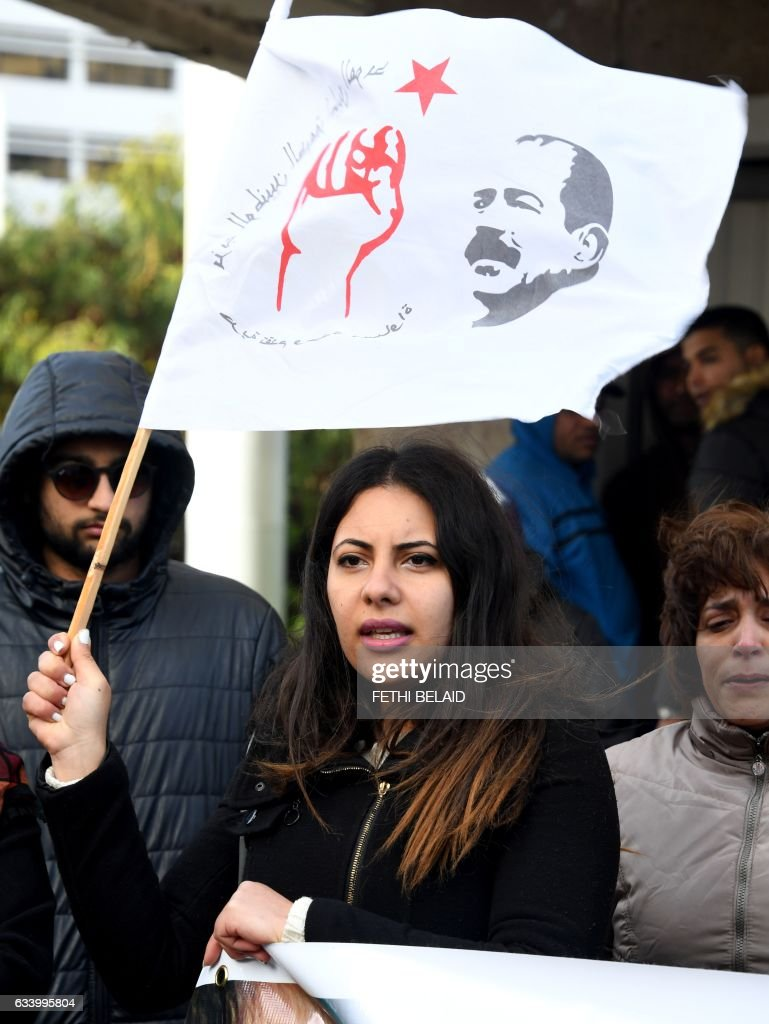 TUNISIA-UNREST-DEMO : News Photo
