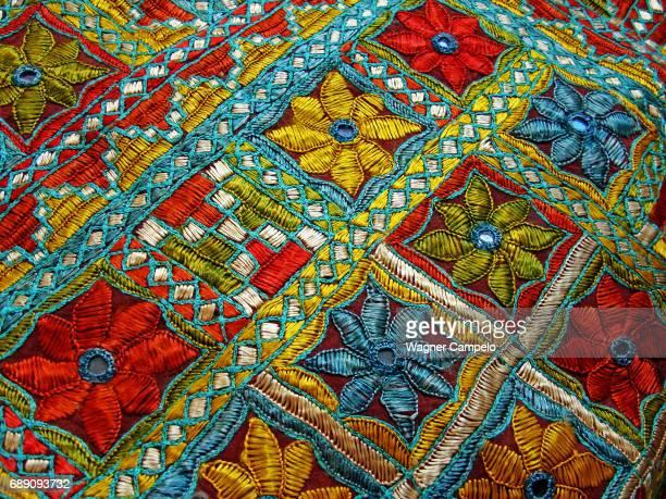 Tunisian Embroidered Fabric