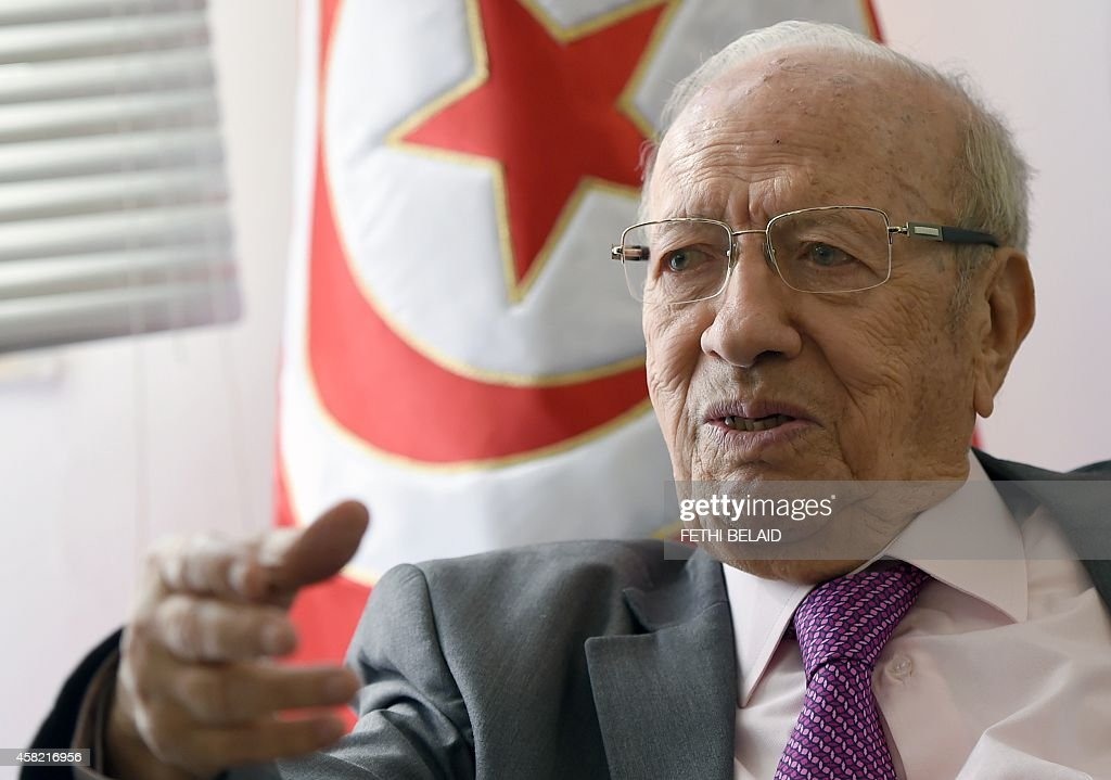 TUNISIA-POLITICS-VOTE : News Photo