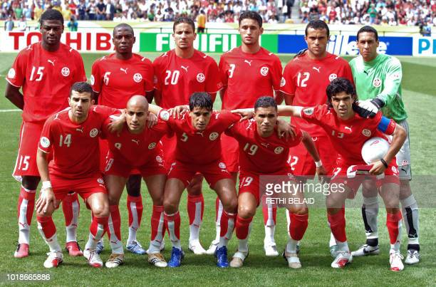 Tunisian midfielders Adel Chedli and Medhi Nafti forward Ziad Jaziri defender Anis Ayari midfielder Riadh Bouazizi defenders Radhi Jaidi and Hatem...