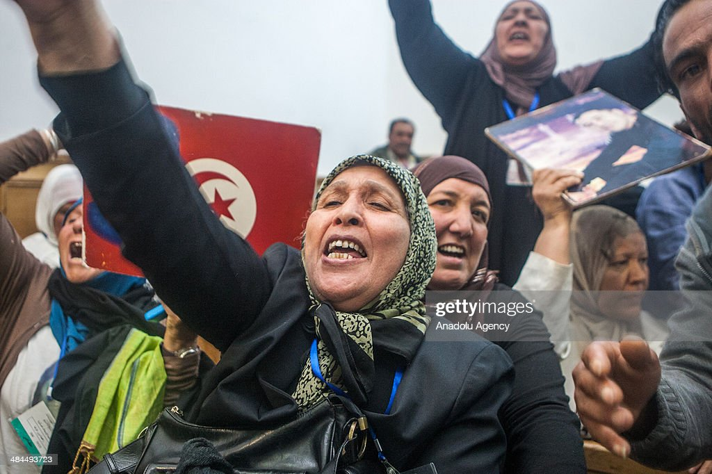 Life imprisonment for Tunisian ousted leader : News Photo