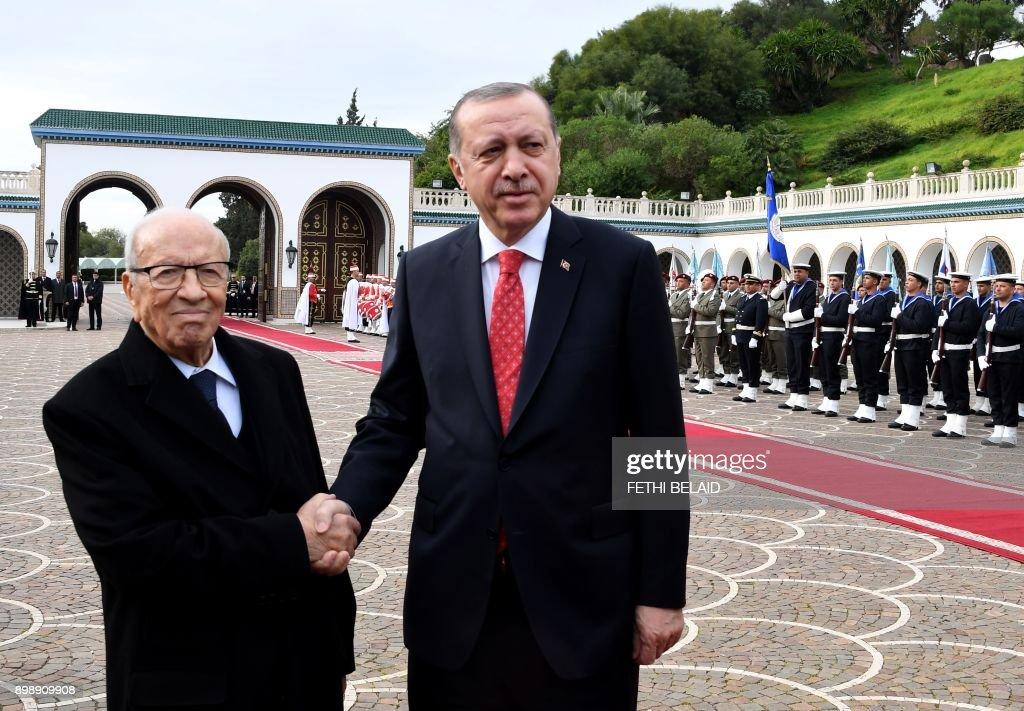TUNISIA-TURKEY-BEJI-ERDOGAN : Nieuwsfoto's