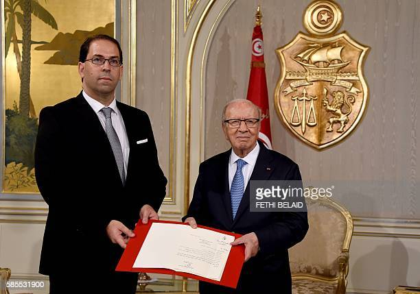 Tunisian President Beji Caid Essebsi appoints local affairs minister Youssef Chahed as the country's new prime ministerdelegate tasked with forming a...