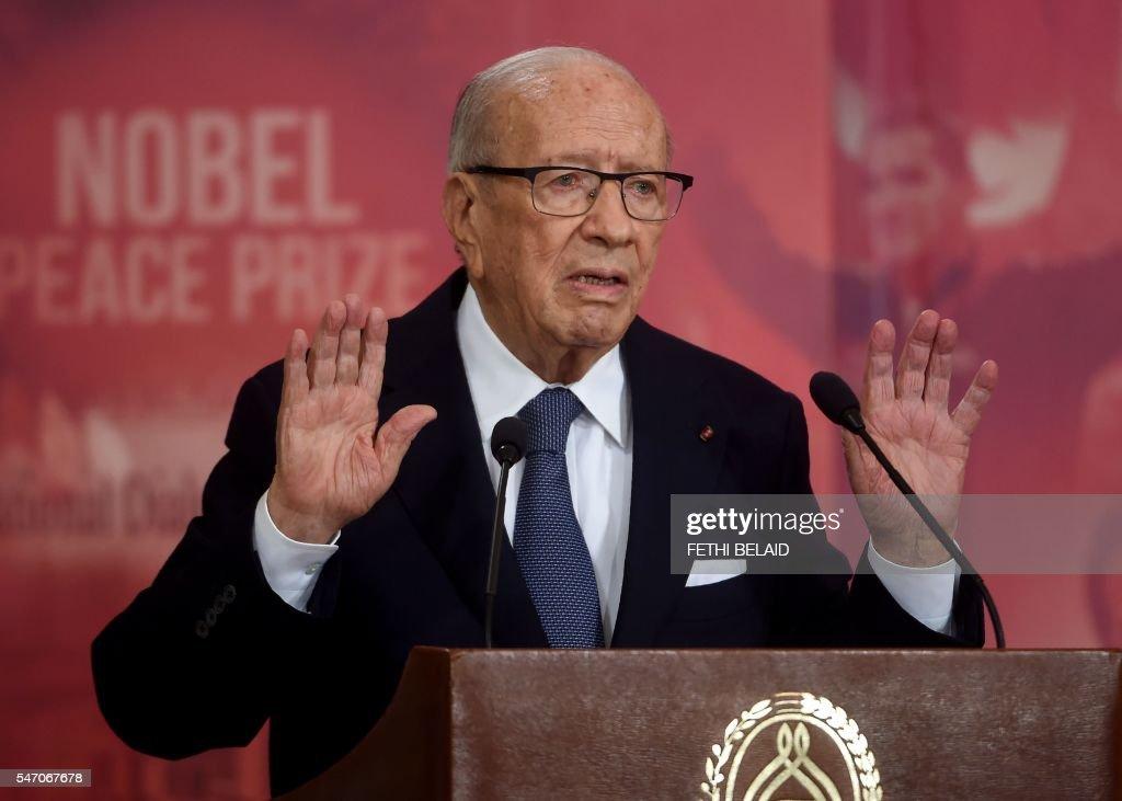 TUNISIA-POLITICS-GOVERNMENT : News Photo