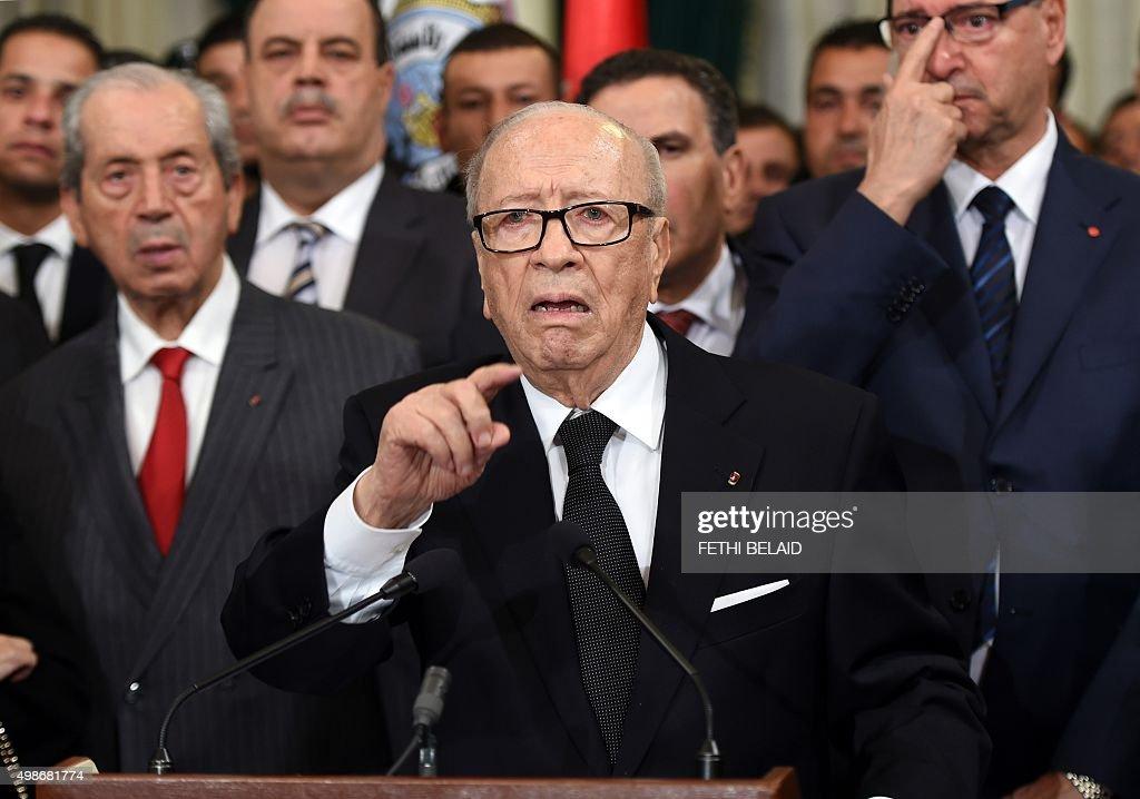 TUNISIA-UNREST-BLAST : News Photo