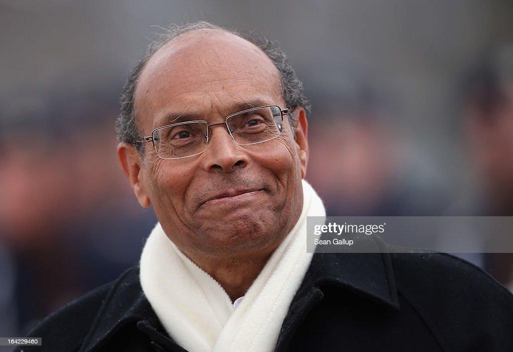 Tunisian President Marzouki Visits Germany