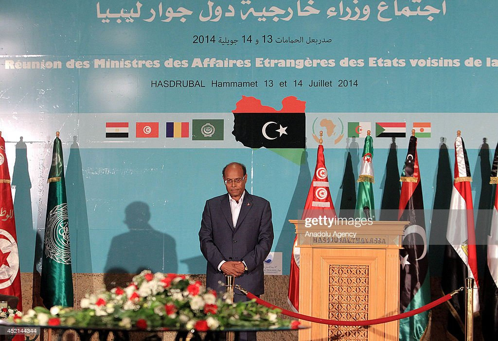 The foreign ministers' meeting of Libya's neighbouring countries : News Photo