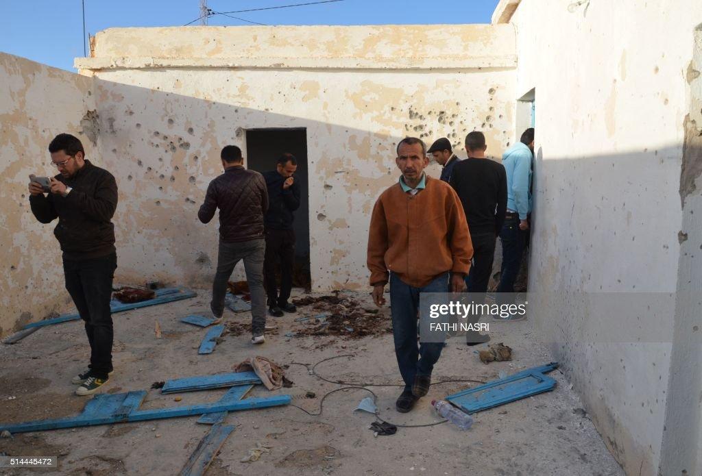TUNISIA-LIBYA-UNREST : News Photo