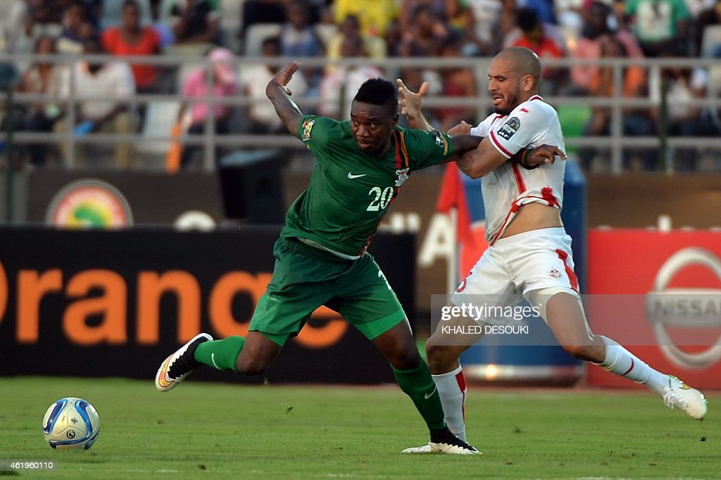 Tunisia v Zambia - 2015 Africa Cup of Nations: Group B