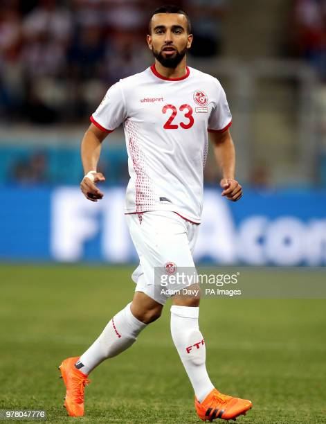 Tunisia's Naim Sliti during the FIFA World Cup Group G match at The Volgograd Arena Volgograd