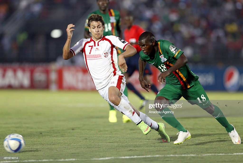 Zambia vs Tunisia - 2015 African Cup of Nations : News Photo