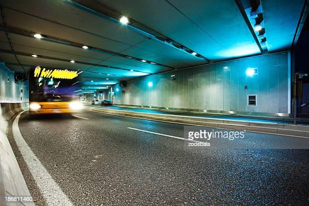 Túnel y el tráfico en Milán