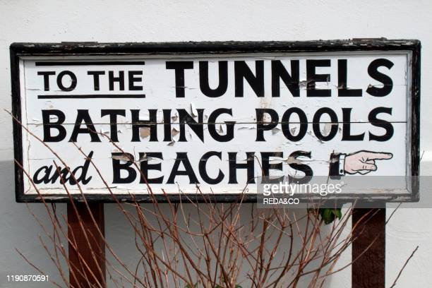 Tunnel Beaches Bathing Pools Ilfracombe North Devon England Great Britain