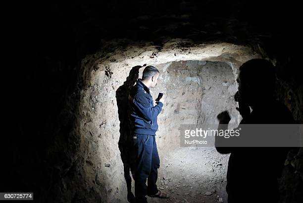 ISIS tunnel in Tel Laban/ Gazakan on 30 December 2016 The Kakai Kurds are returning to their homes as Mosul offensive continiues The Kakai Kurds are...