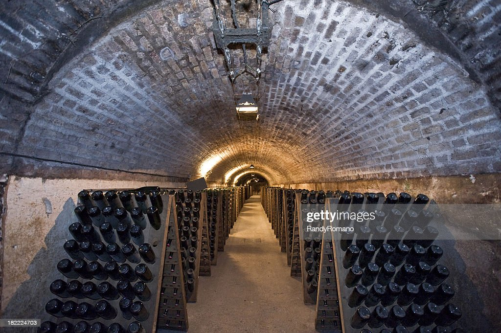 Tunnel Of Champagne : Stock Photo
