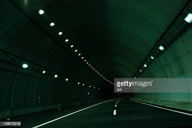 Tunnel of expressway