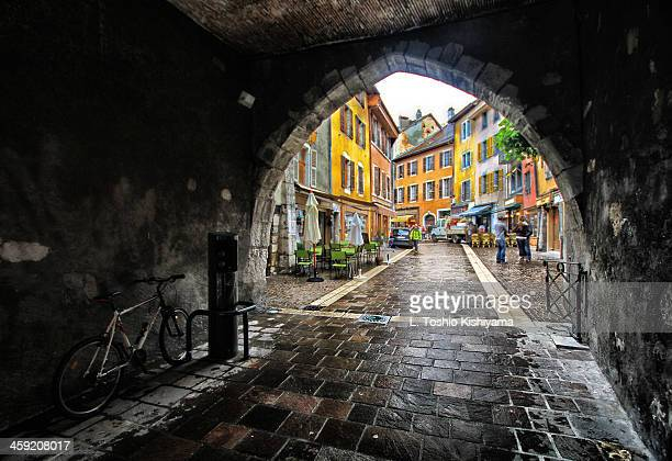 A Tunnel to Beautiful Annecy, France
