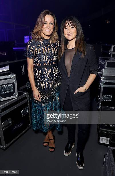 KT Tunstall and Natalie Pinkham attend the SeriousFun Children's Network London Gala 2016 at The Roundhouse on November 3 2016 in London England