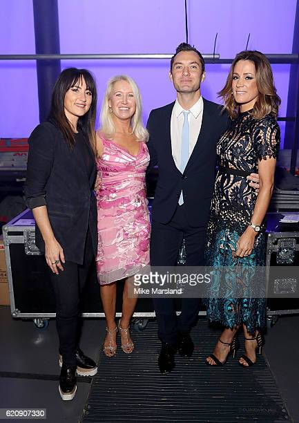 KT Tunstall Clea Newman Jude Law and Natalie Pinkham attend the SeriousFun Children's Network London Gala 2016 at The Roundhouse on November 3 2016...