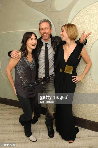 KT Tunstall Patrick Cox and Natalie Imbruglia during Virgin Unite host End Fistula Fundraising event Inside at Nobu Berkeley in London Great Britain