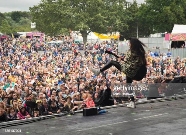 Tunstall performs on stage during Isle of Wight Festival 2019 at Seaclose Park on June 15 2019 in Newport Isle of Wight