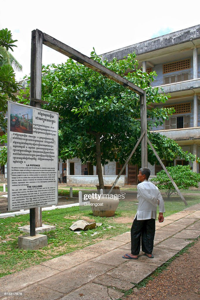 Tuol Sleng Genocide Museum : Stock Photo