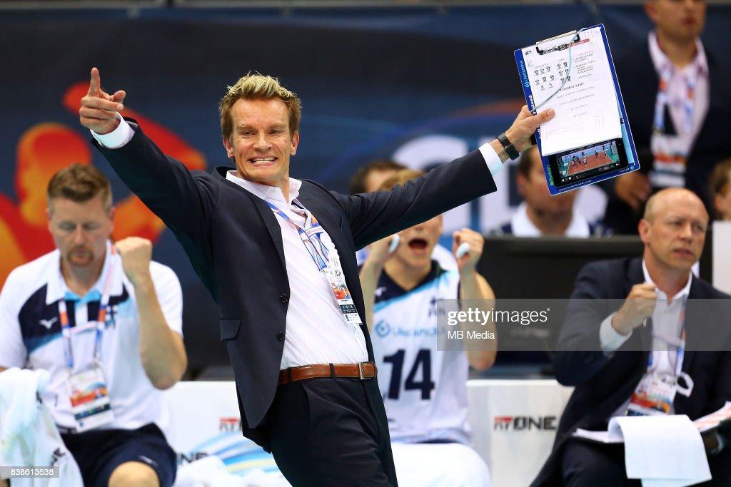 European Men's Volleyball Championships 2017 : News Photo