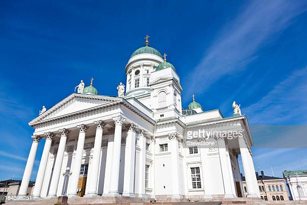 Tuomiokirkko (The Lutheran Cathedral) Helsinki Finland tourism travel