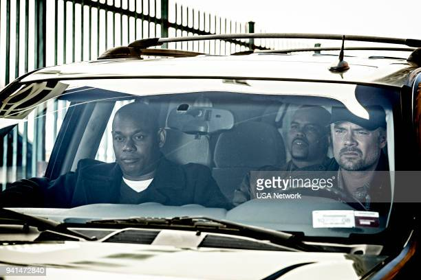 G 'Tupac Amaru Shakur' Episode 108 Pictured Bokeem Woodbine as Detective Daryn Dupree Amin Joseph as Percy Locke Josh Duhamel as Detective Greg Kading