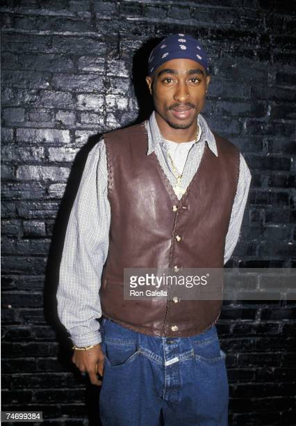 Tupac Shakur at the Club USA in New York City New York