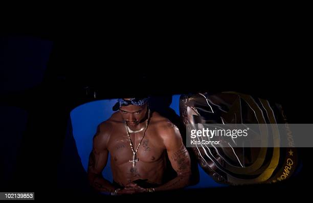 Tupac Shakur wax figure is unveiled at Madame Tussauds on June 16 2010 in Washington DC