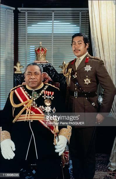 Tupou Iv, King Of Tonga In Tonga In 1995.