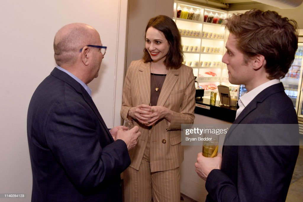 Dewar's Double Double And Actress Tuppence Middleton Premiere Short Film 'FOUR' At Metrograph In NYC : News Photo