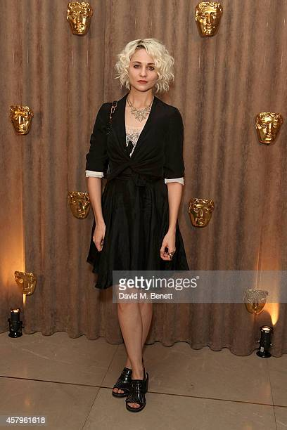 Tuppence Middleton attends the BAFTA Breakthrough Brits party at Burberry on October 27 2014 in London England
