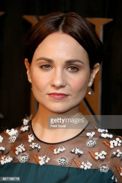 Tuppence Middleton attends the BFI Luminous Fundraising Gala at The Guildhall on October 3 2017 in London England