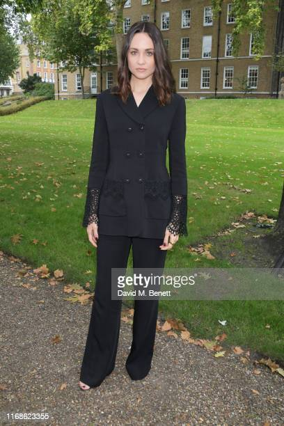 Tuppence Middleton attends the Erdem front row during London Fashion Week September 2019 at Grays Inn Gardens on September 16, 2019 in London,...